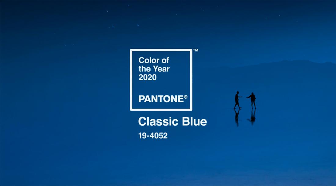 Цвет настроения синий! Как использовать цвет года Pantone 2020 в дизайн-проектах