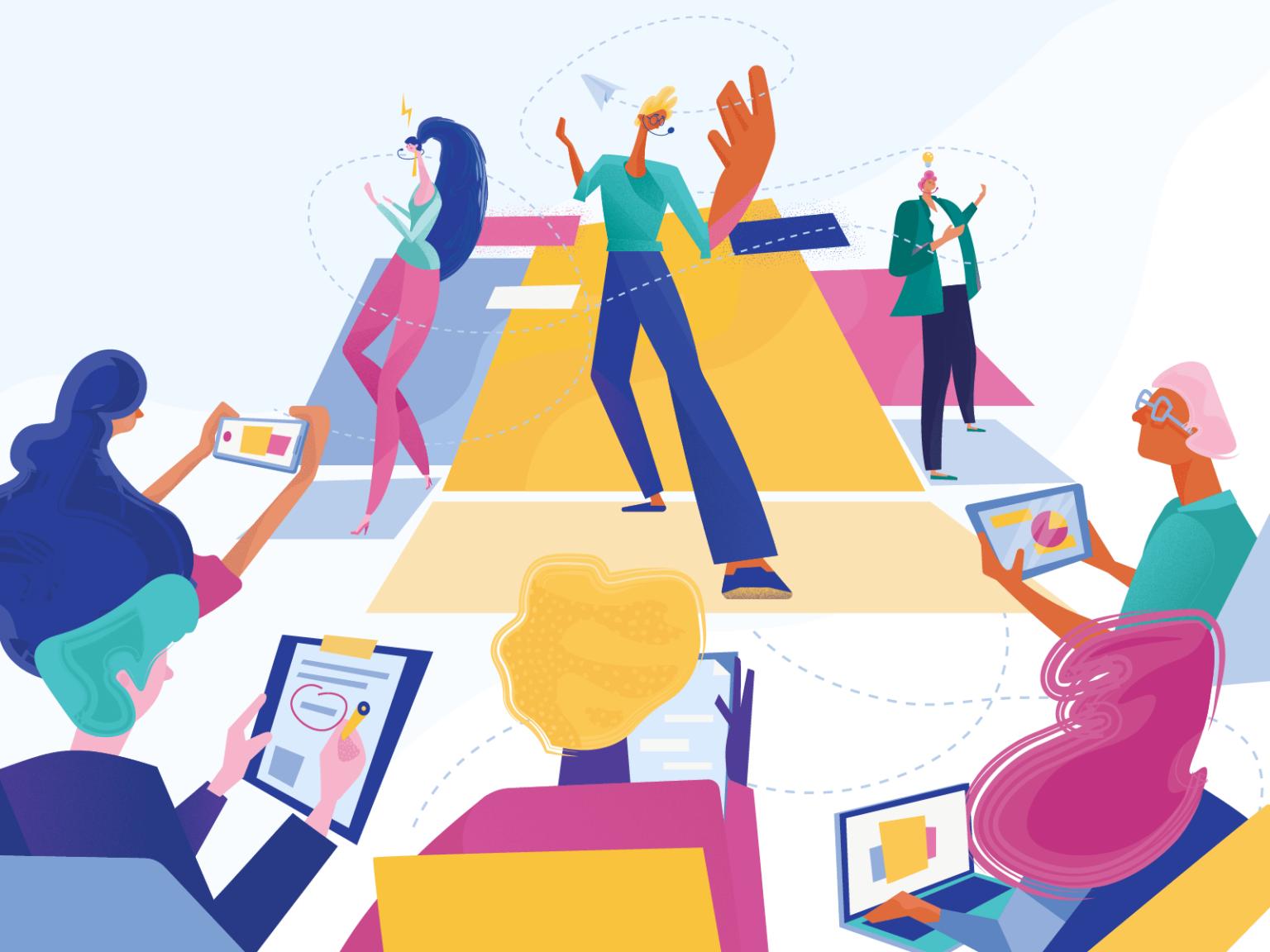 17 трендов иллюстрации и графического дизайна 2020 года