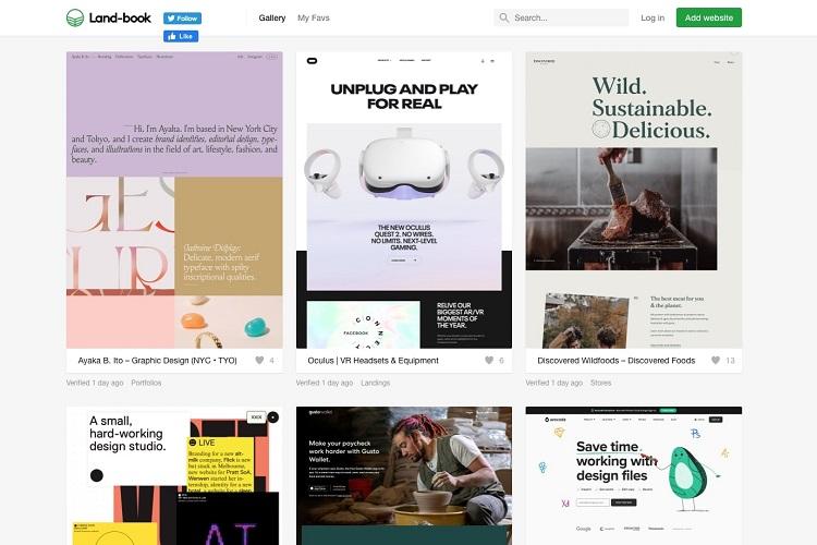 19 уникальных мест, где можно найти вдохновение для веб-дизайна. Часть 1