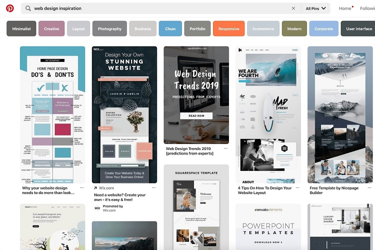 19 уникальных мест, где можно найти вдохновение для веб-дизайна. Часть 2