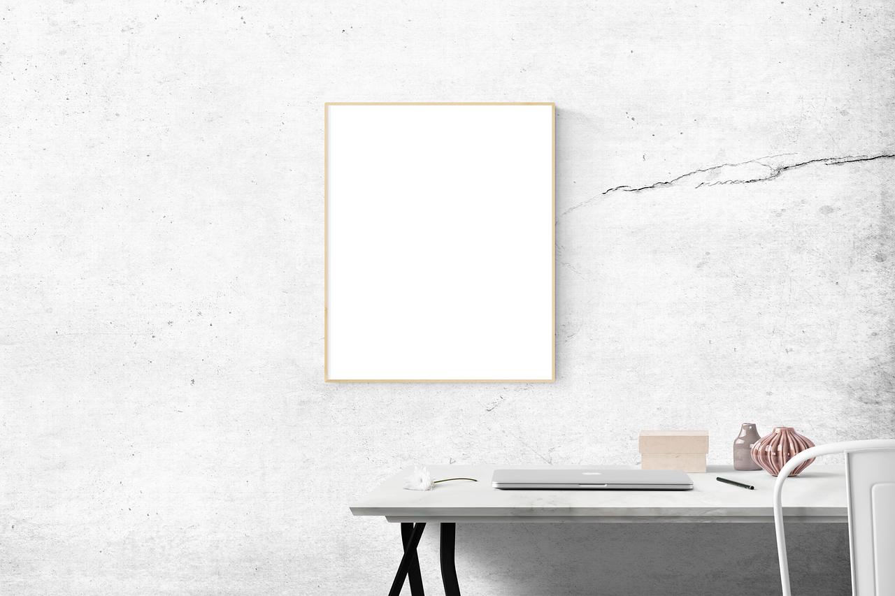 Как создать минималистичный плакат