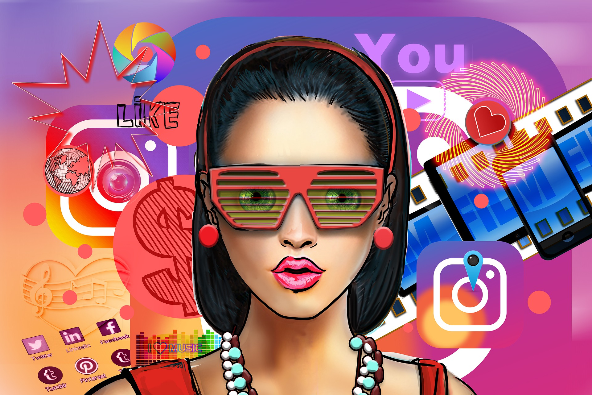 70% школьников заинтересованы в получении заработка в соцсетях